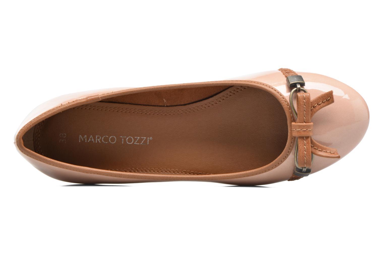 Ballerinas Marco Tozzi Macha rosa ansicht von links