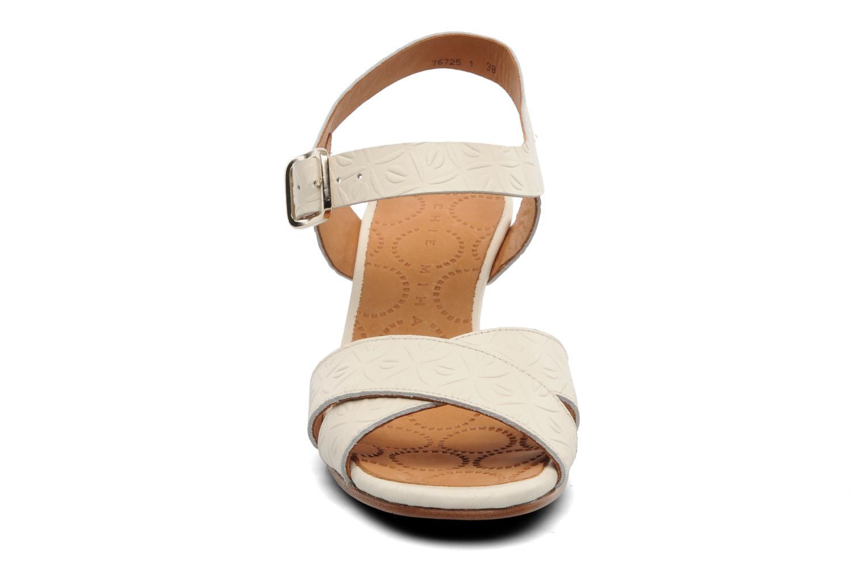 Sandalen Chie Mihara Senyorita beige schuhe getragen