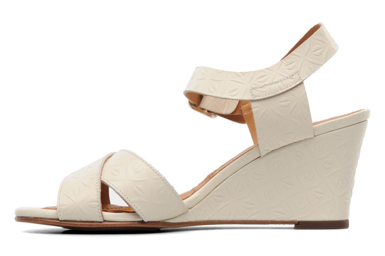 Sandalen Chie Mihara Senyorita beige ansicht von vorne