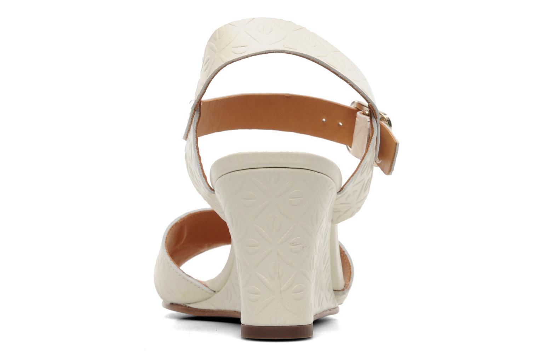 Sandales et nu-pieds Chie Mihara Senyorita Beige vue droite