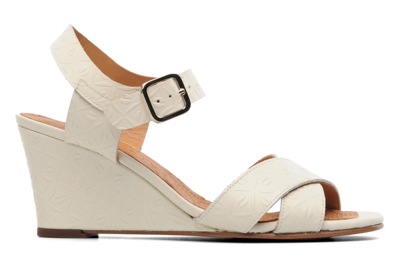Sandalen Chie Mihara Senyorita beige ansicht von hinten