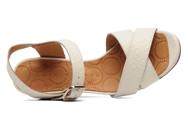 Sandales et nu-pieds Chie Mihara Senyorita Beige vue gauche