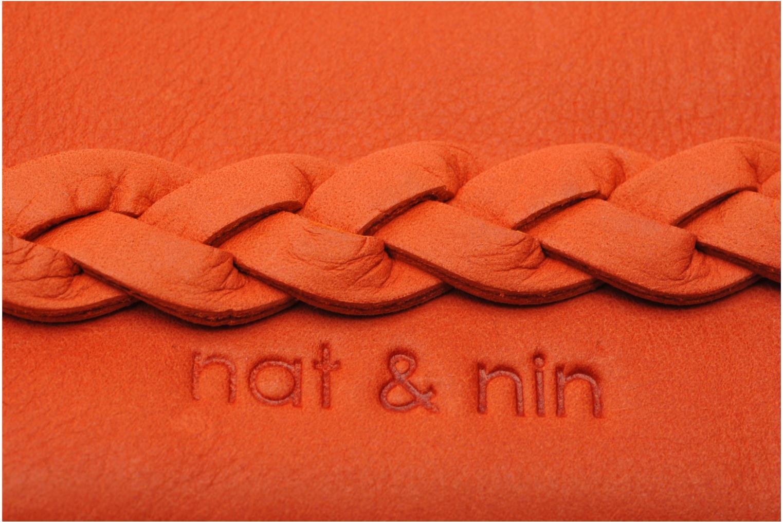 Portemonnaies & Clutches Nat & Nin Lilou orange ansicht von links