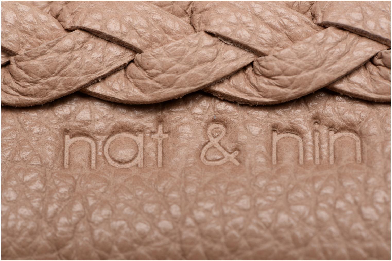 Petite Maroquinerie Nat & Nin Lilou Beige vue gauche