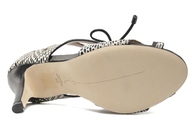 Sandales et nu-pieds Lola Cruz Mada Noir vue haut