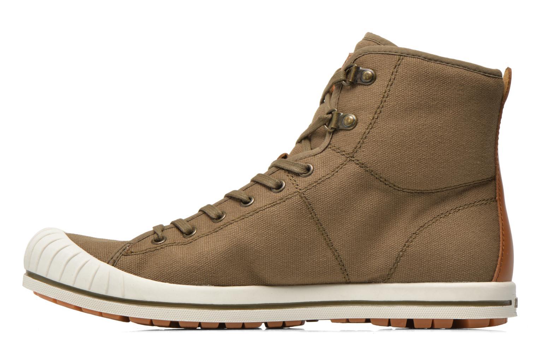 Sneakers Aigle Kitangiri Mid Groen voorkant