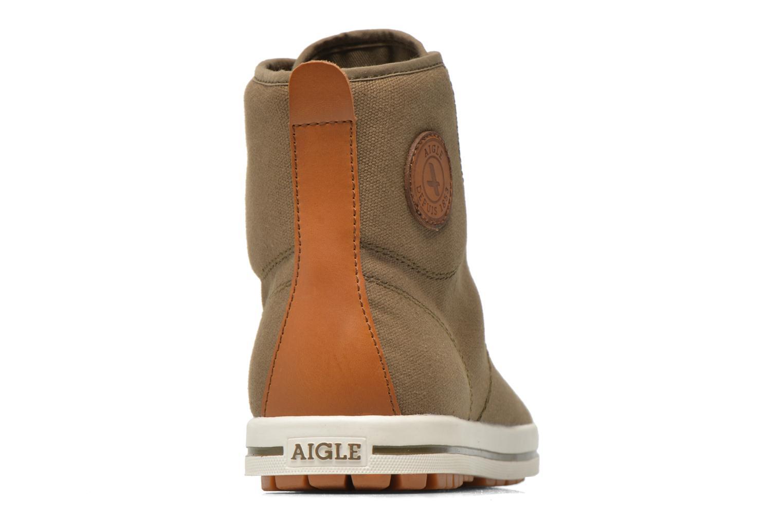 Sneakers Aigle Kitangiri Mid Groen rechts