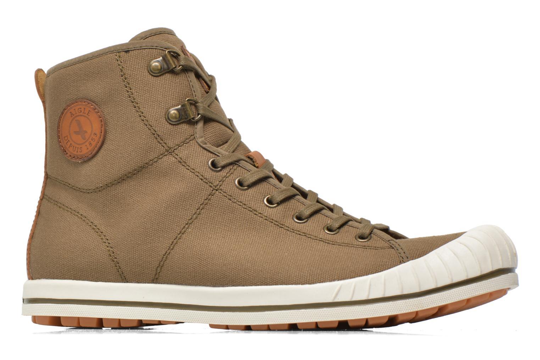 Sneakers Aigle Kitangiri Mid Groen achterkant