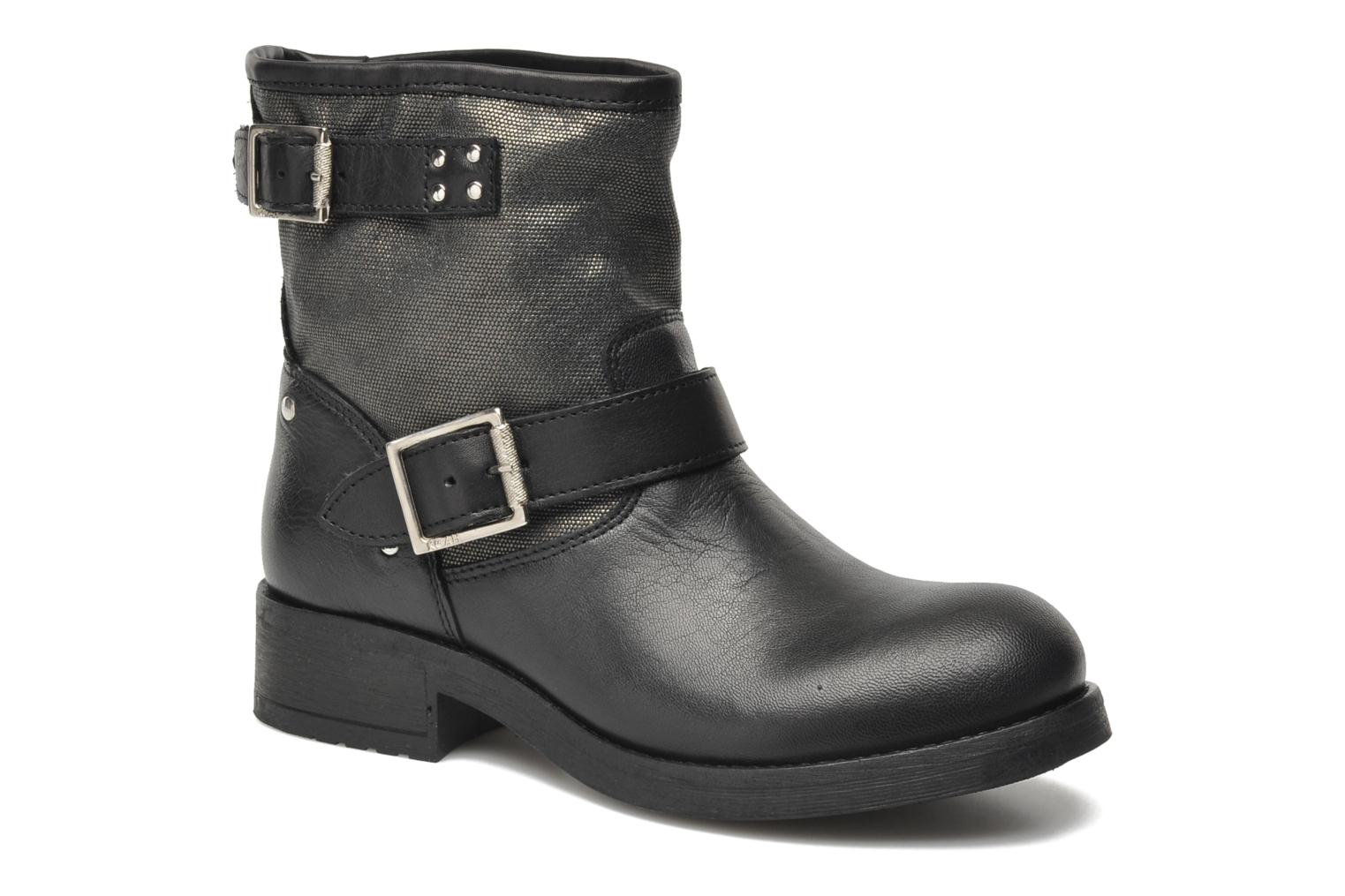 Ankle boots Koah Neil Black detailed view/ Pair view
