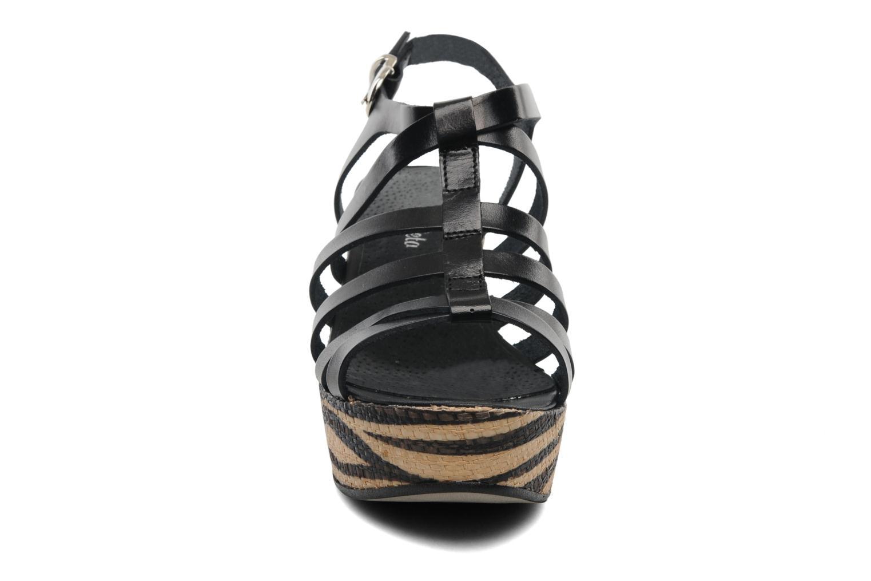 Sandalen Lola Espeleta Pistache schwarz schuhe getragen