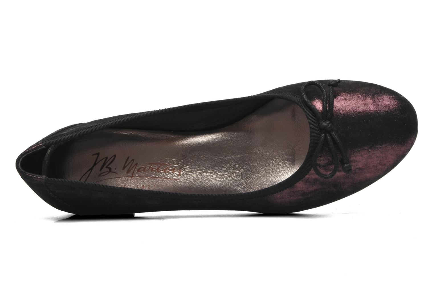 Ballet pumps JB MARTIN Wellem Purple view from the left