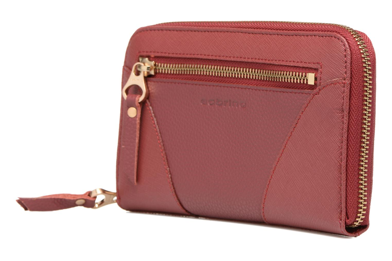Wallets & cases Sabrina Mia Pink model view
