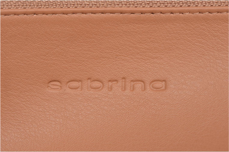 Portemonnaies & Clutches Sabrina Suri beige ansicht von links