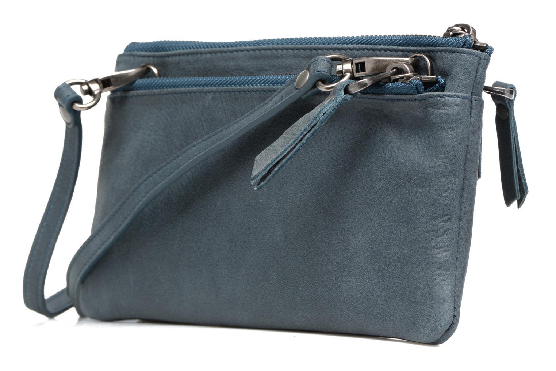 Portemonnaies & Clutches Sabrina Suri blau ansicht von rechts