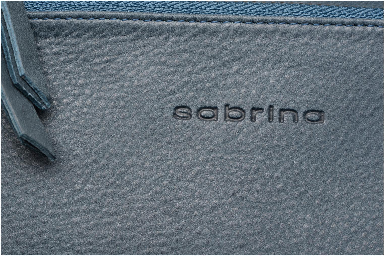 Portemonnaies & Clutches Sabrina Suri blau ansicht von hinten