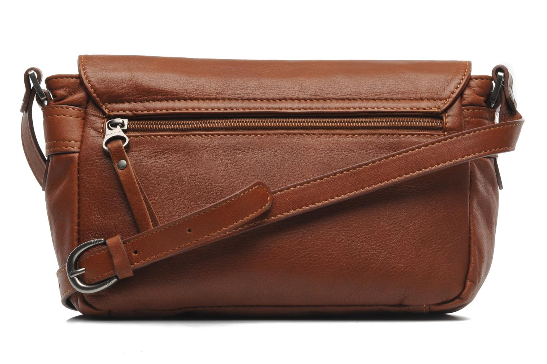 Handbags Sabrina Nicky Brown front view