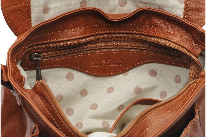 Handbags Sabrina Nicky Brown back view