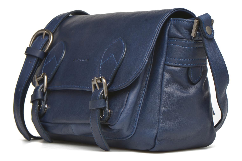 Handtaschen Sabrina Nicky blau schuhe getragen