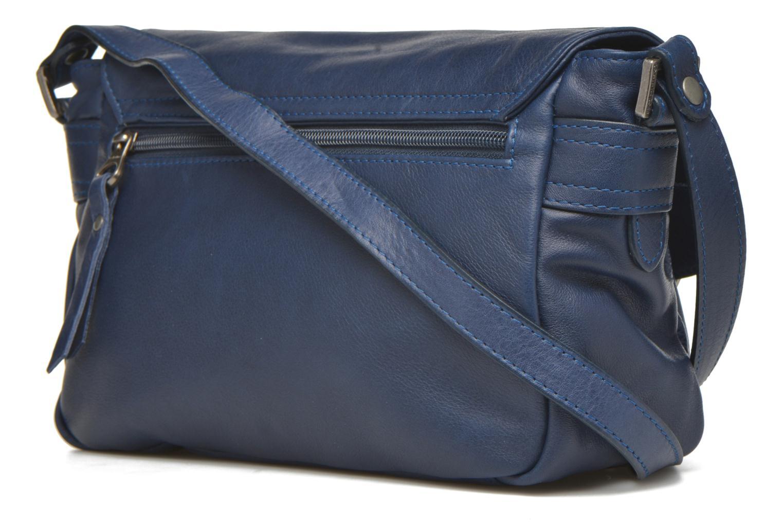 Handtaschen Sabrina Nicky blau ansicht von rechts