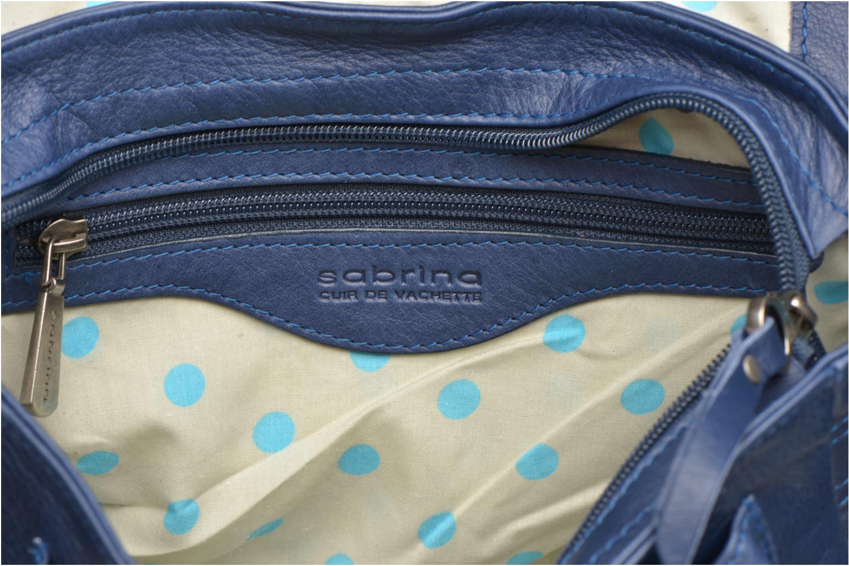 Handtaschen Sabrina Nicky blau ansicht von hinten