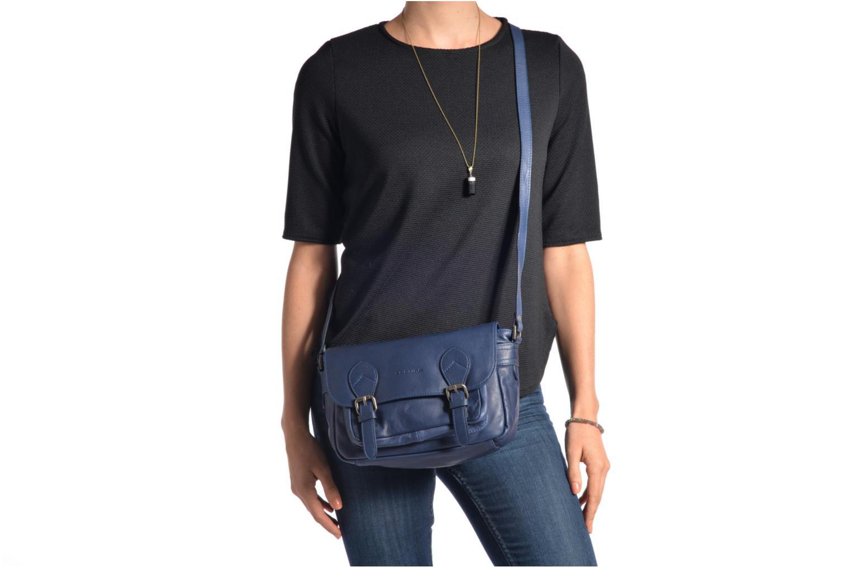Handtaschen Sabrina Nicky blau ansicht von oben