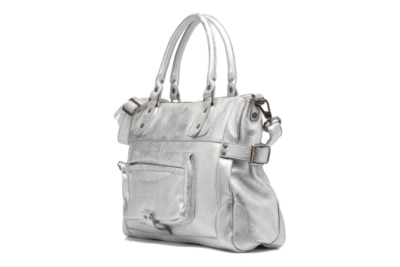 Handtaschen Sabrina Camille silber schuhe getragen
