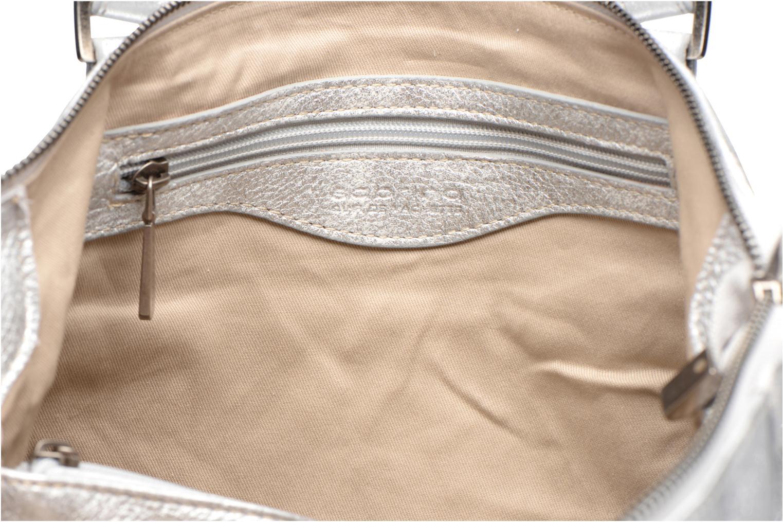 Handtaschen Sabrina Camille silber ansicht von hinten