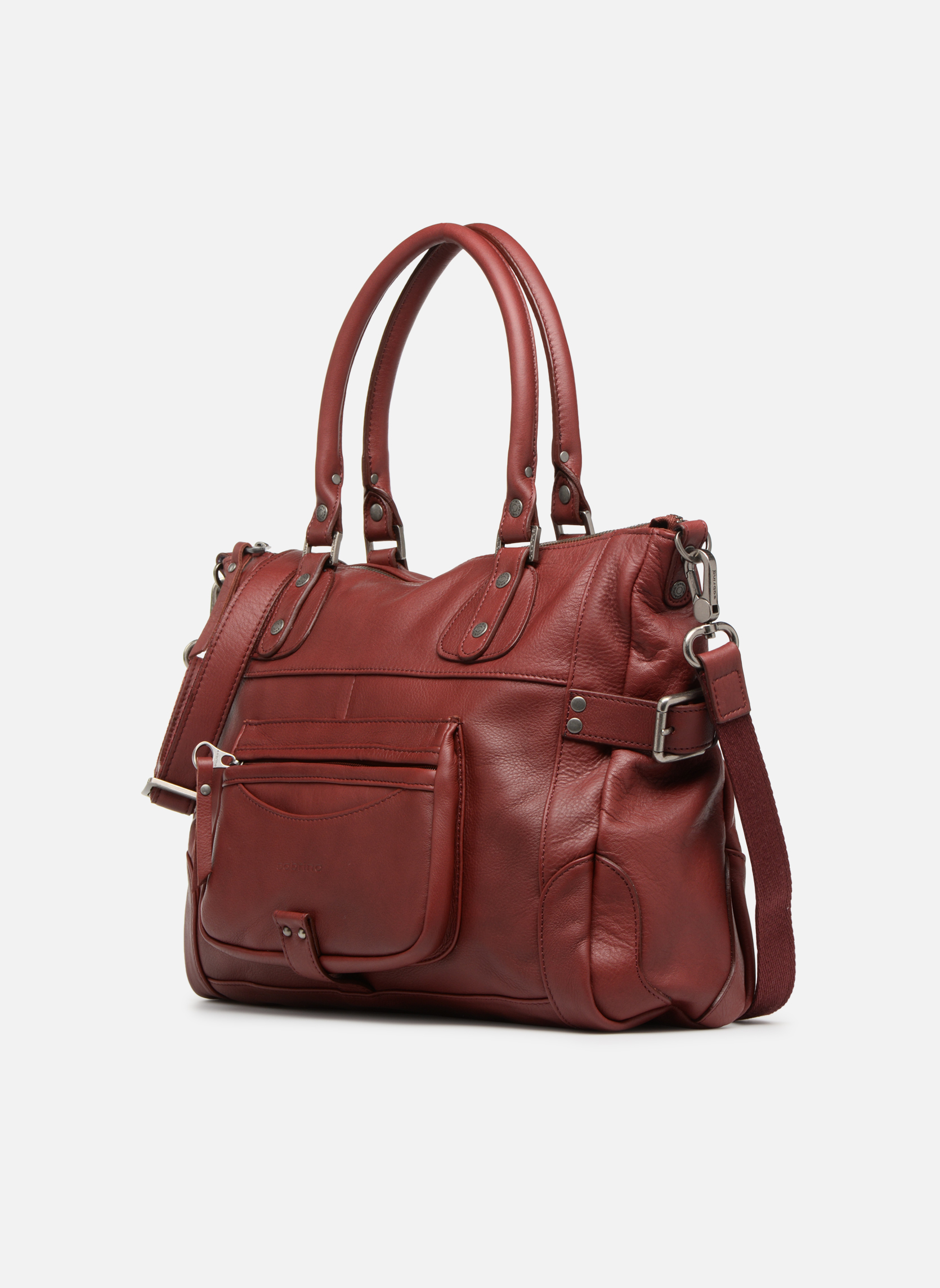 Handbags Sabrina Camille Red model view