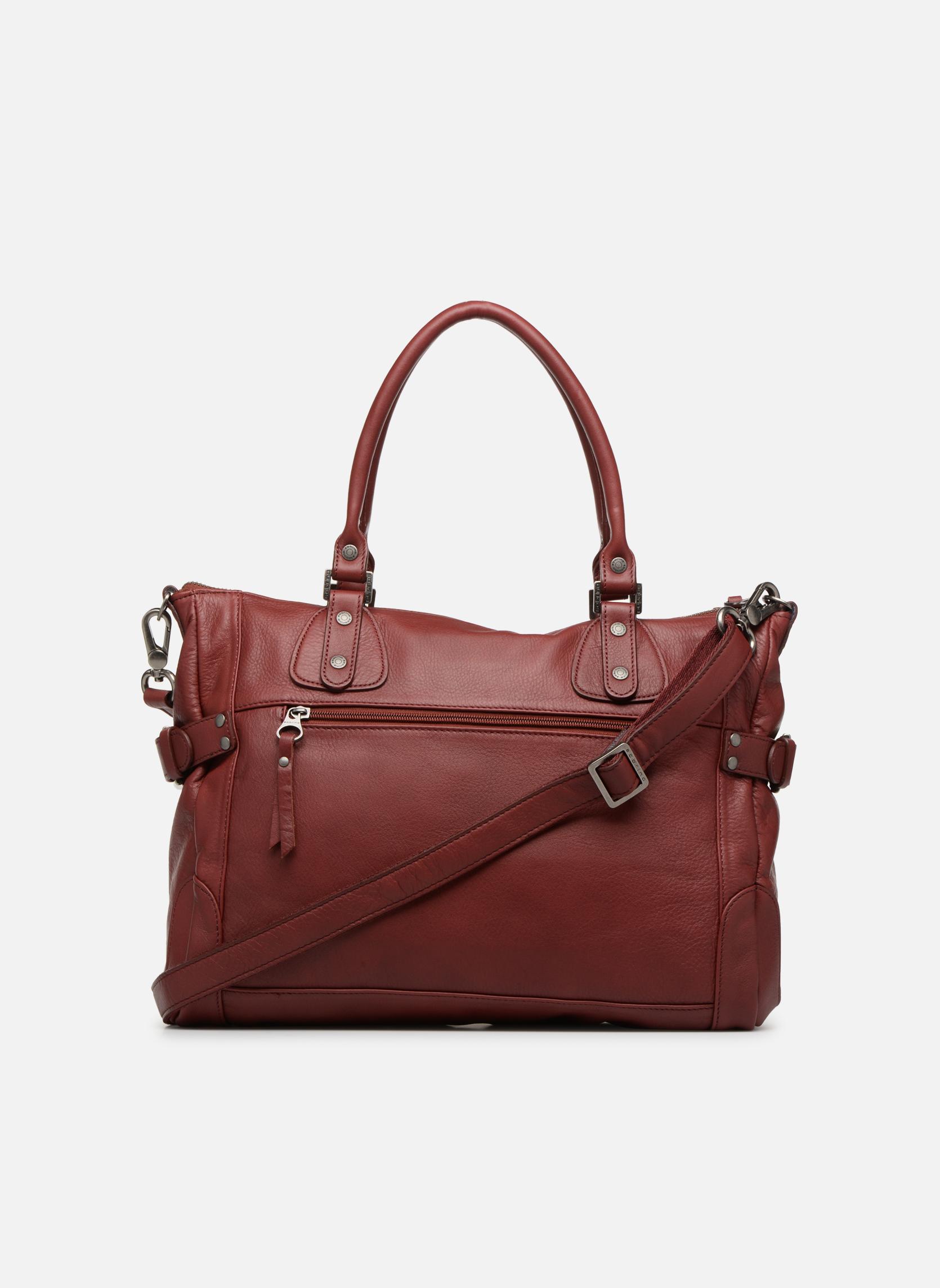 Handbags Sabrina Camille Red front view