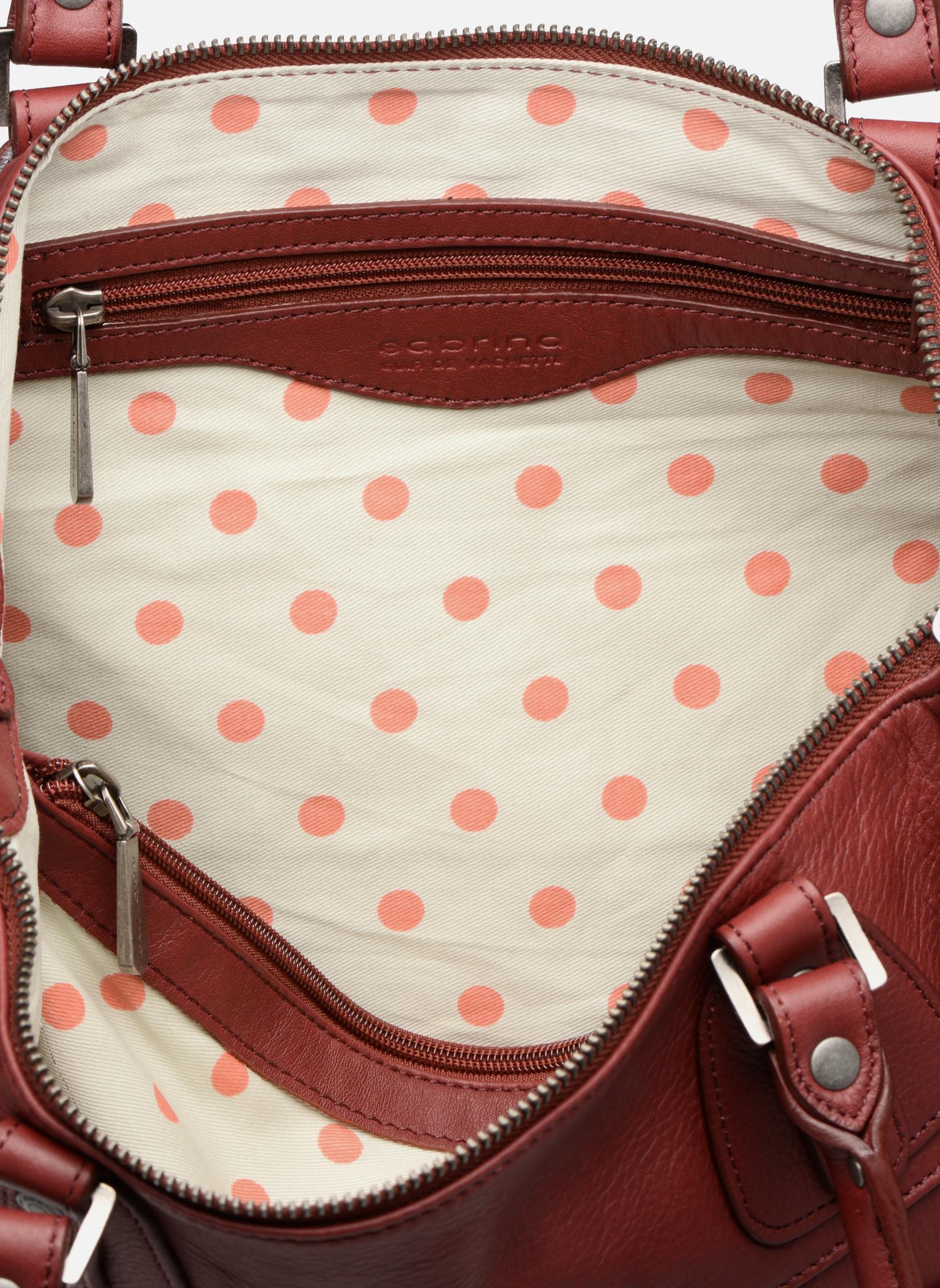 Handbags Sabrina Camille Red back view