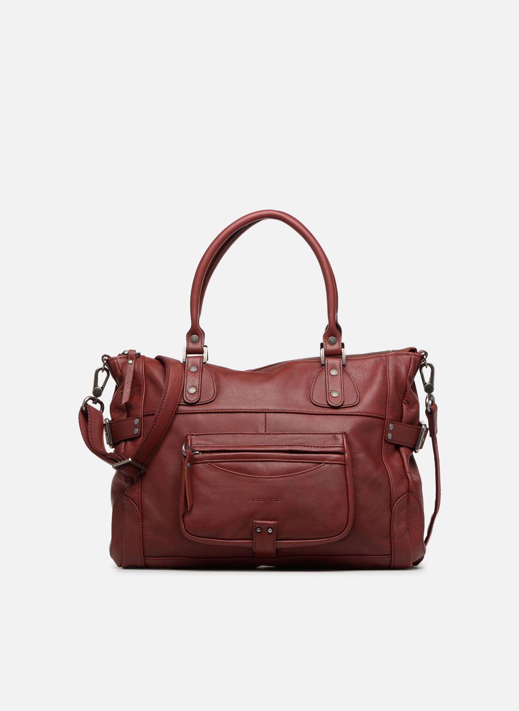 Handbags Sabrina Camille Red detailed view/ Pair view
