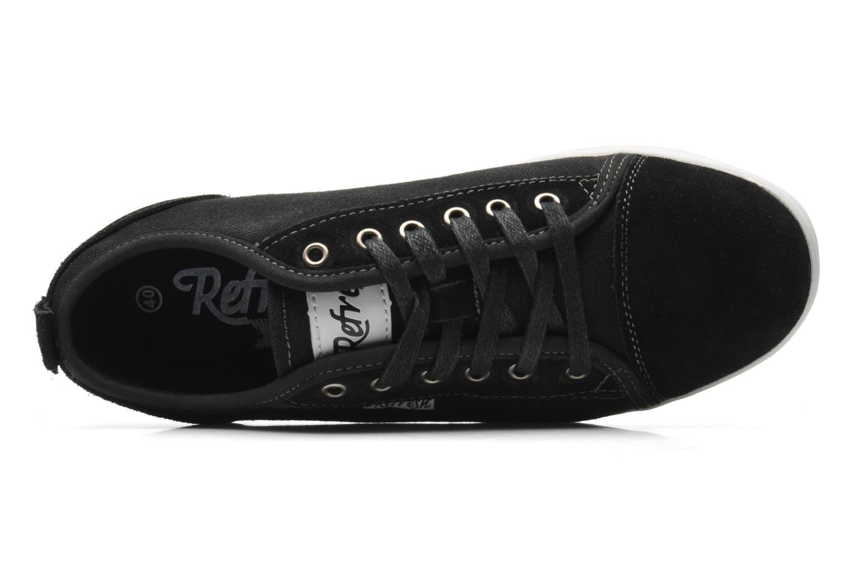 Sneakers Refresh Barnabé Zwart links