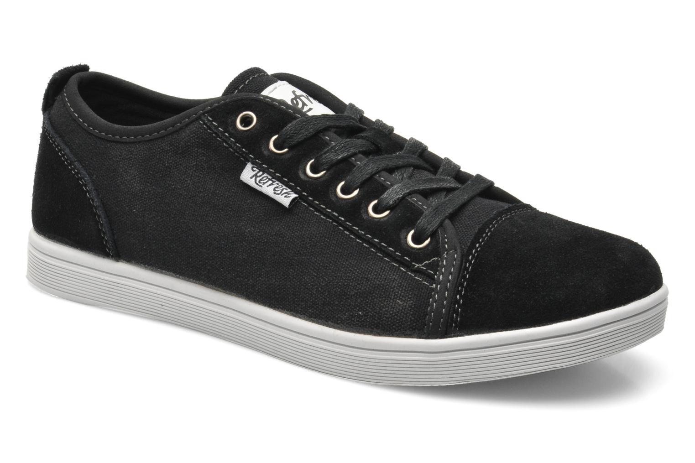 Sneakers Refresh Barnabé Zwart detail
