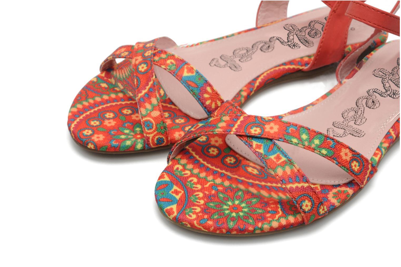 Sandales et nu-pieds Refresh Bathilde Multicolore vue 3/4