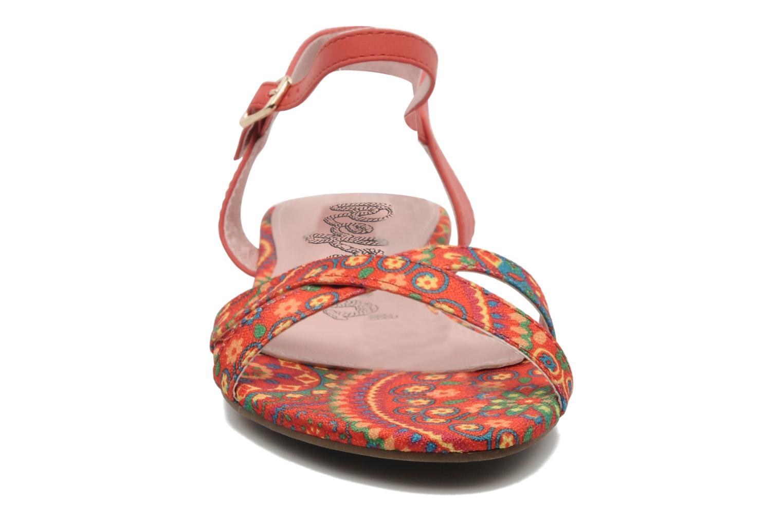 Sandales et nu-pieds Refresh Bathilde Multicolore vue portées chaussures