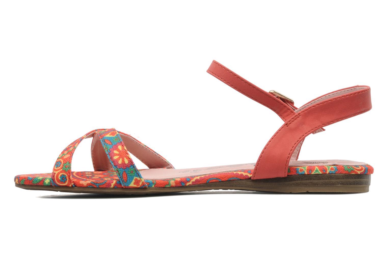 Sandales et nu-pieds Refresh Bathilde Multicolore vue face