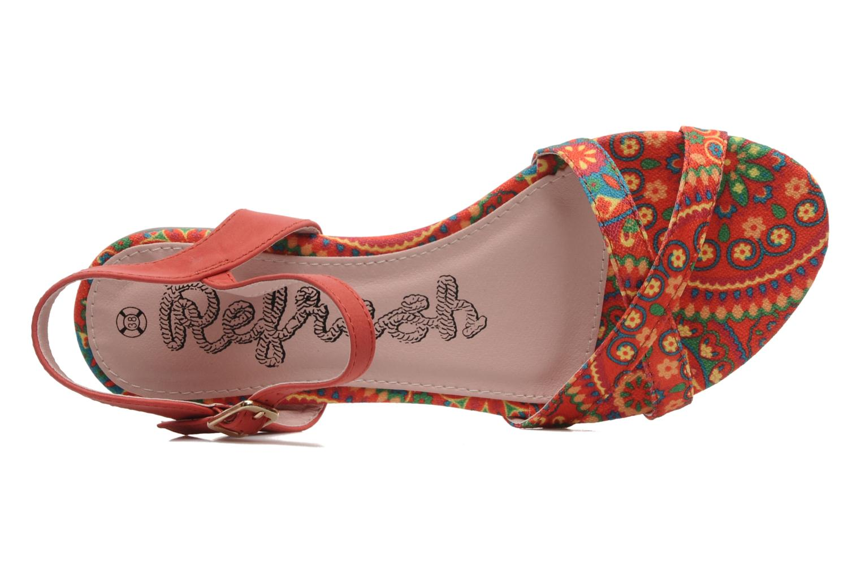 Sandales et nu-pieds Refresh Bathilde Multicolore vue gauche