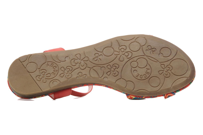 Sandales et nu-pieds Refresh Bathilde Multicolore vue haut