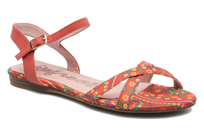 Sandales et nu-pieds Refresh Bathilde Multicolore vue détail/paire
