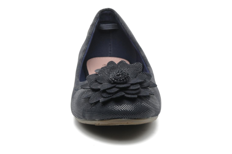 Ballerines Refresh Bénilde Bleu vue portées chaussures
