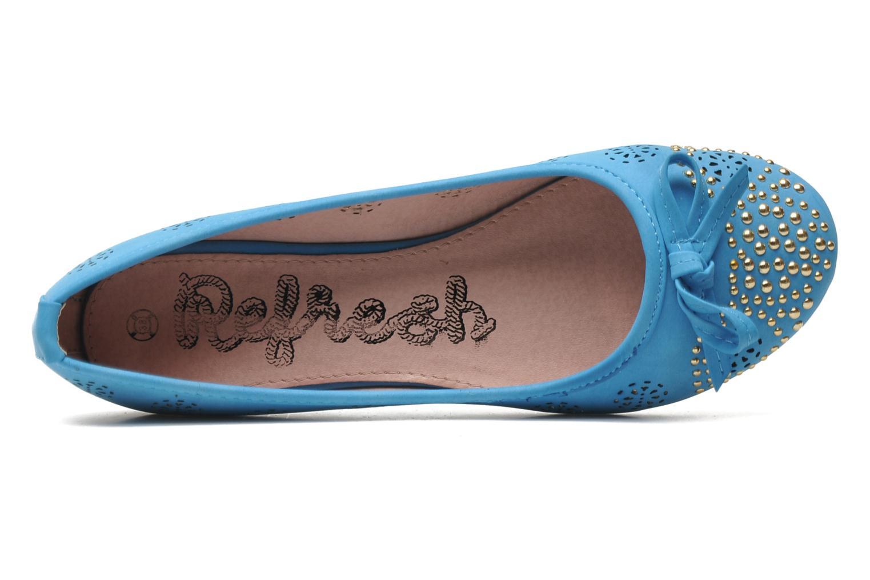 Ballerinas Refresh Béline blau ansicht von links