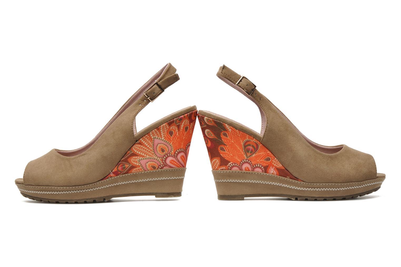 Sandals Refresh Behnam Beige 3/4 view