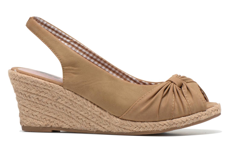 Sandales et nu-pieds Refresh Britt Marron vue derrière