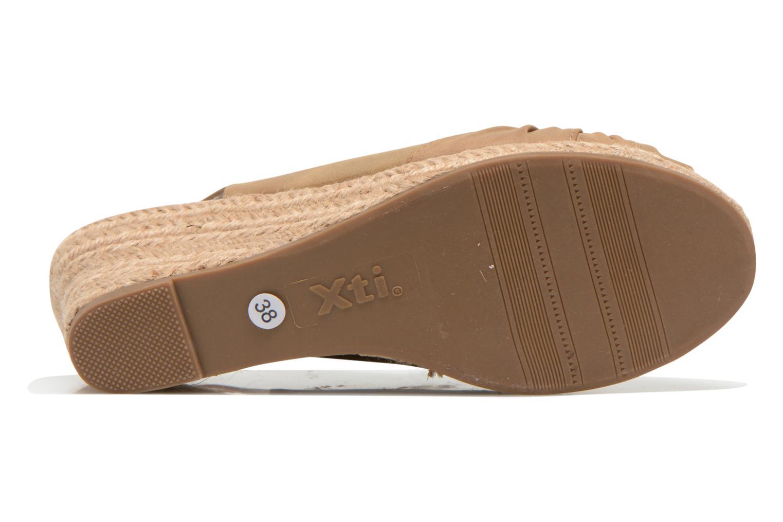 Sandales et nu-pieds Refresh Britt Marron vue haut