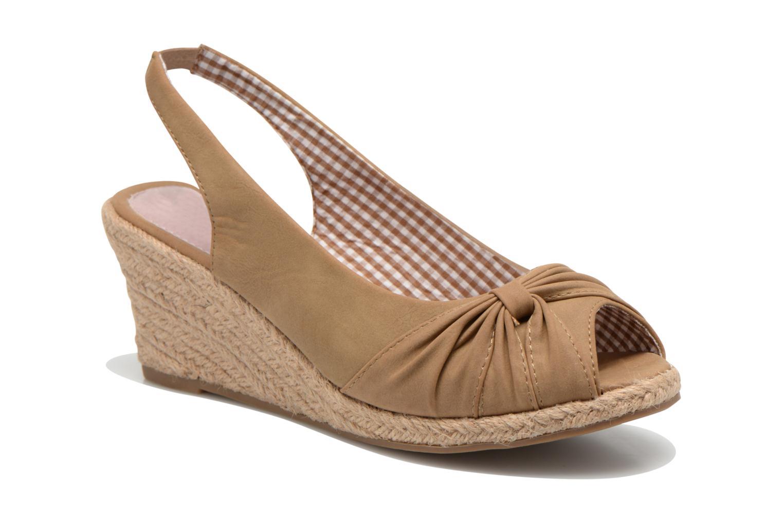 Sandales et nu-pieds Refresh Britt Marron vue détail/paire
