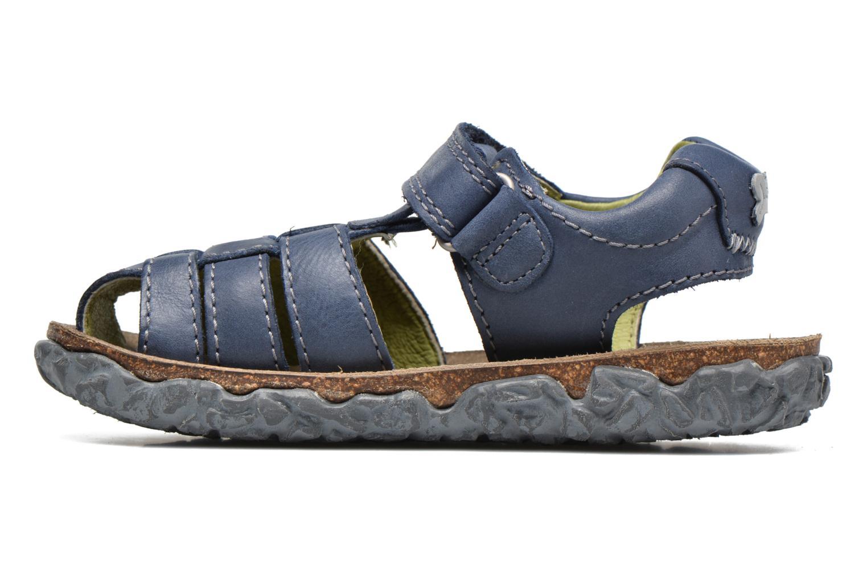 Sandals Stones and Bones NATAN Blue front view