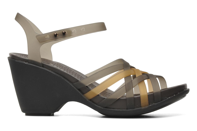 Sandalen Crocs Huarache Sandal Wedge Zwart achterkant