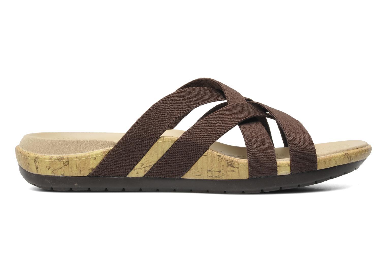 Clogs & Pantoletten Crocs Crocs Edie Stretch Sandal W braun ansicht von hinten