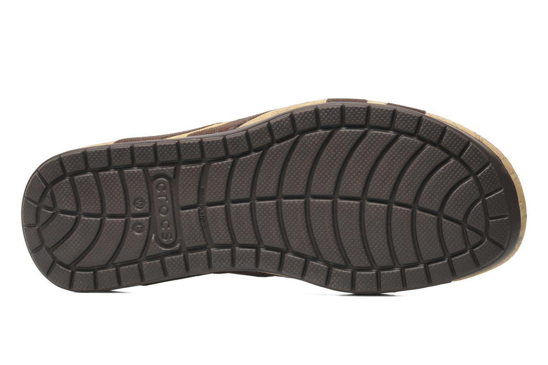 Clogs & Pantoletten Crocs Crocs Edie Stretch Sandal W braun ansicht von oben