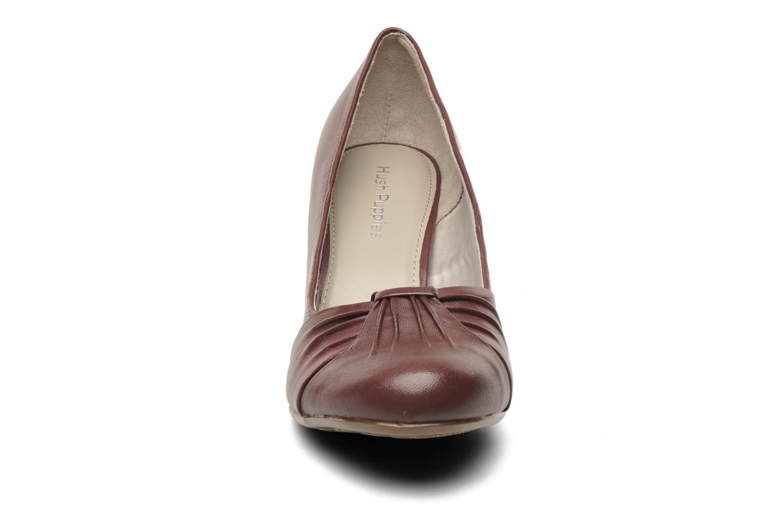 High heels Hush Puppies lonna pump Burgundy model view